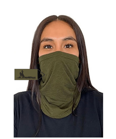 Fence Next Level  Adult Neck Gaiter Military Green