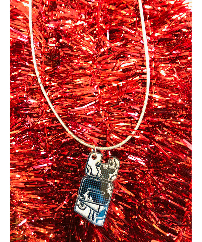 AS023 307 -  Necklace (Blue)