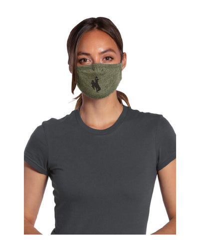 Bucking Horse Allmade® Tri-Blend Allmask™ - Military Green