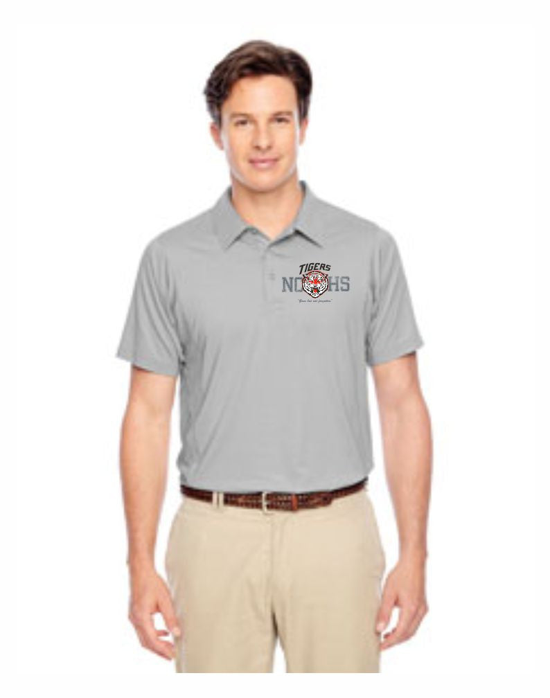 C - Men's Golf Polo - Silver
