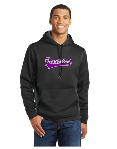 D - Regulators - Sport-Tek® Sport-Wick® CamoHex Fleece Colorblock Hooded Pullover