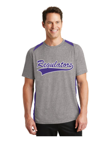 F - Regulators - Sport-Tek® Heather Colorblock Contender™ Tee