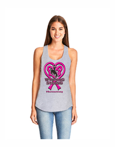 C05 - Wyoming Strong Tank - #carisastrong (Adult)