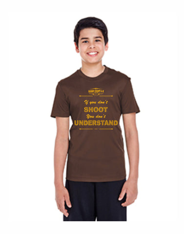 E - Shooting Sports Youth Zone Performance T
