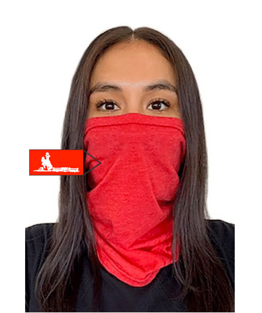 Fence Next Level  Adult Neck Gaiter Red
