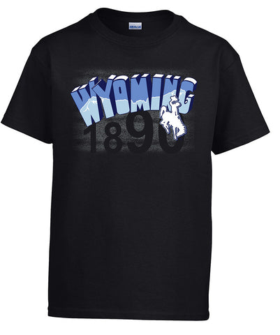 T037 Youth WY Shirt - Black