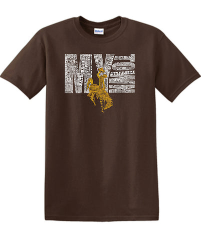 T051 Wyoming My Town T-Shirt