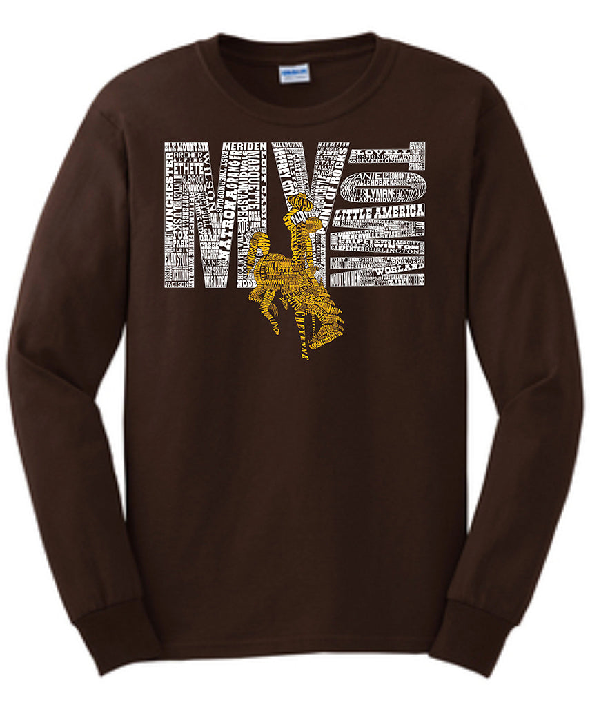L010 Wyoming My Town Long Sleeve