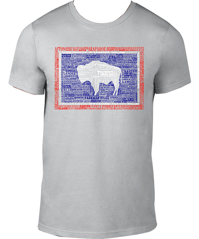 T054 Wyoming Hometown T-Shirt Lightweight