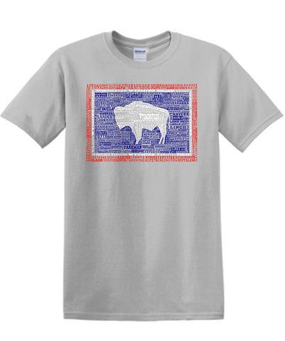 T053 Wyoming Hometown T-Shirt