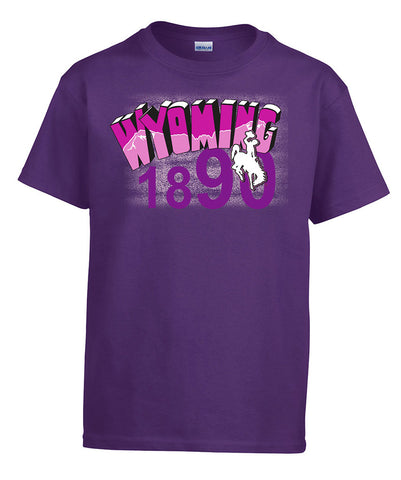 T038 Youth WY Shirt - Purple
