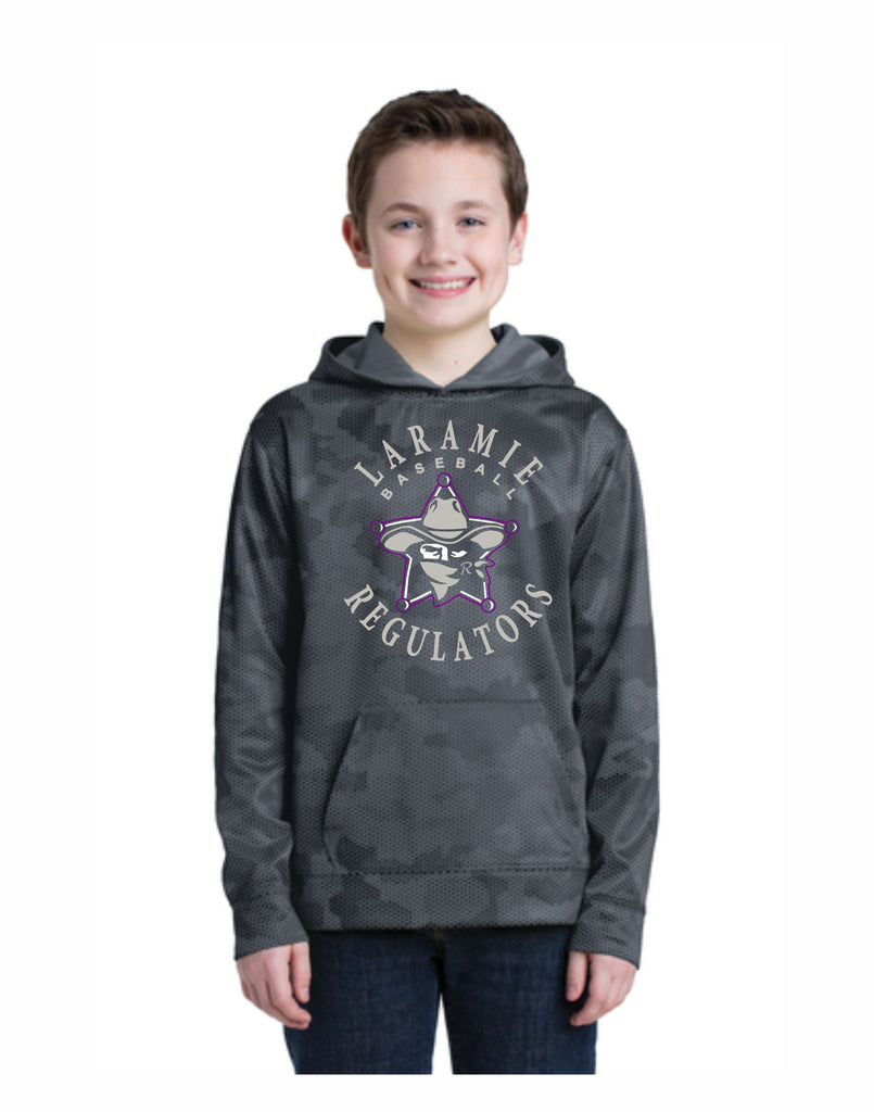 H - Laramie Regulators Youth Camo Hex Hoodie