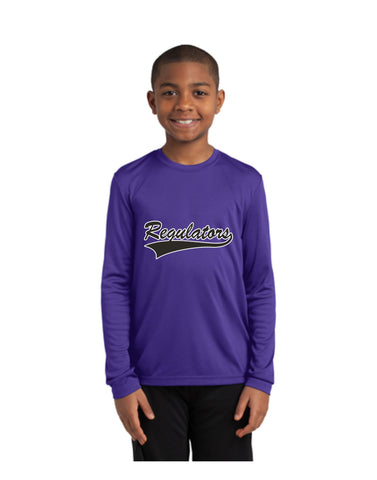 I - Regulators - Sport-Tek® Youth Long Sleeve PosiCharge® Competitor™ Tee