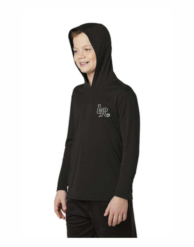 K - Laramie Regulators Youth PosiCharge ® Competitor ™ Hooded Pullover