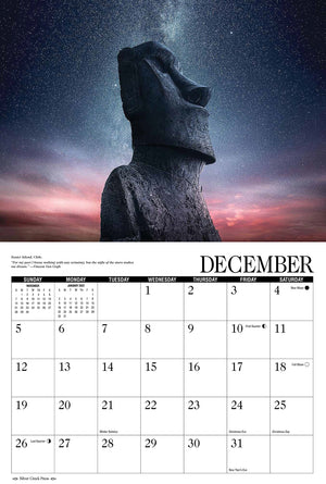 2021 Starry Night Calendar