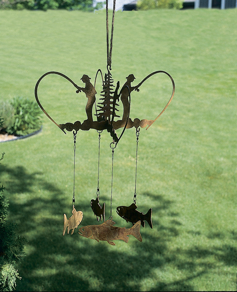 Angler's Trout Wind Chime