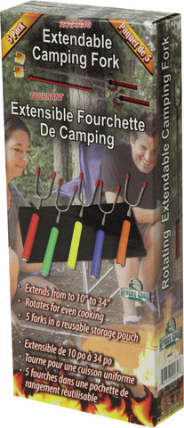 NEW! Rotating Extendable Camp Forks