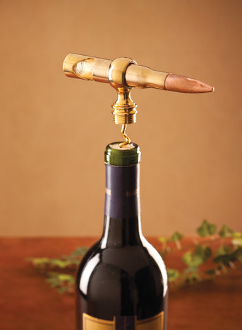 Big Shot .50 Caliber Corkscrew Bottle Opener