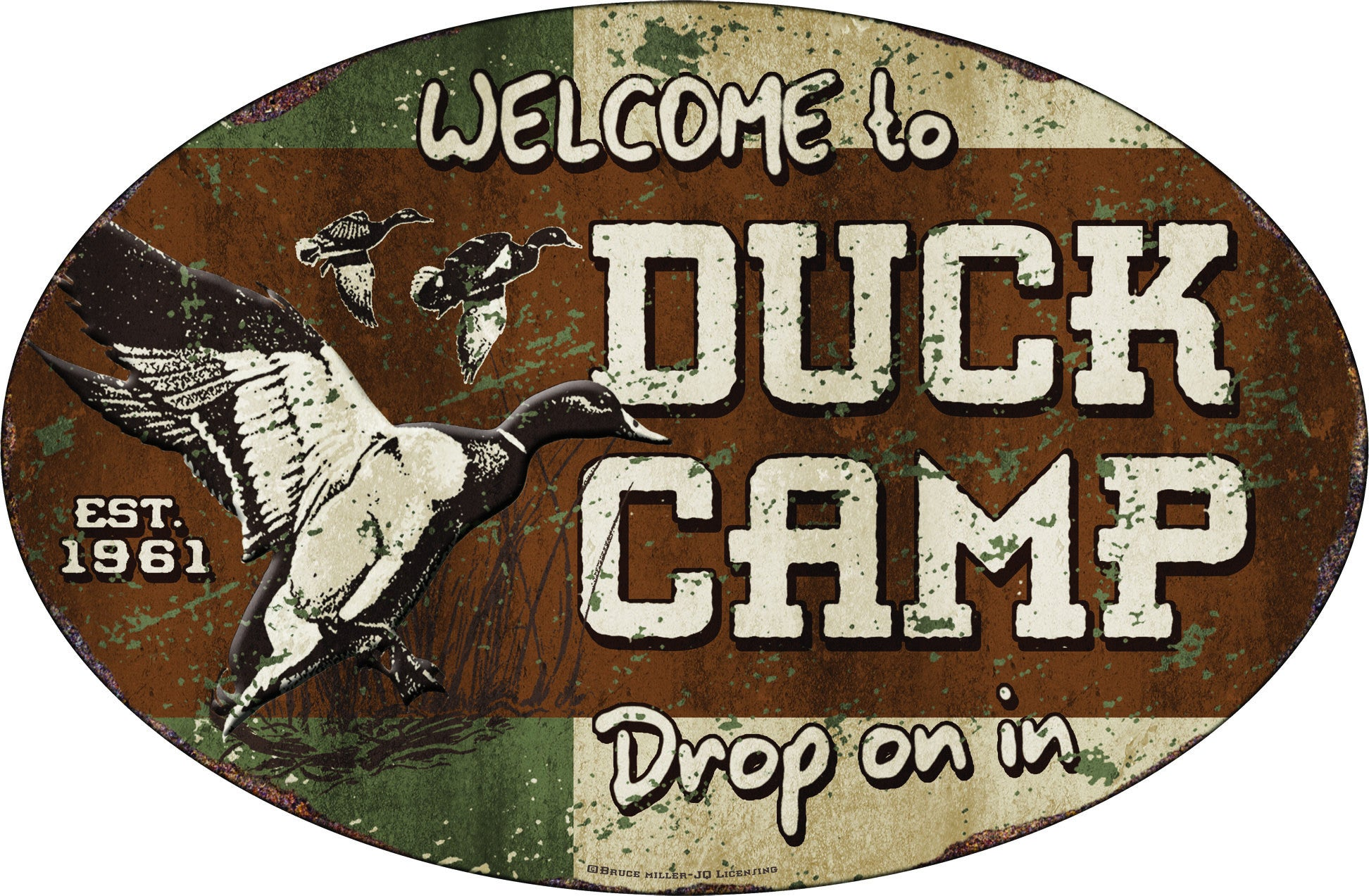 Duck Camp Sign