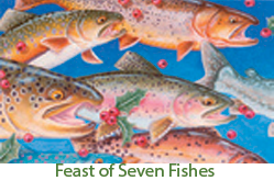 Feast of Seven Fishes - Christmas Card