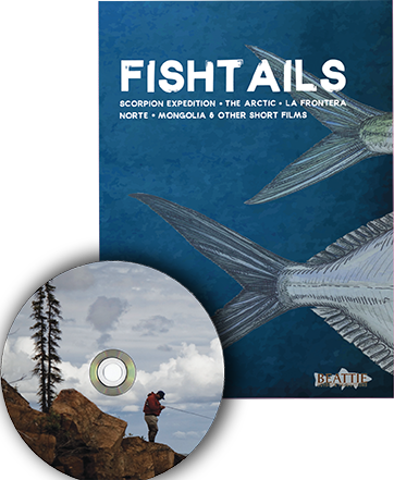Fishtails:  A Collection of Short Fishing Stories - DVD