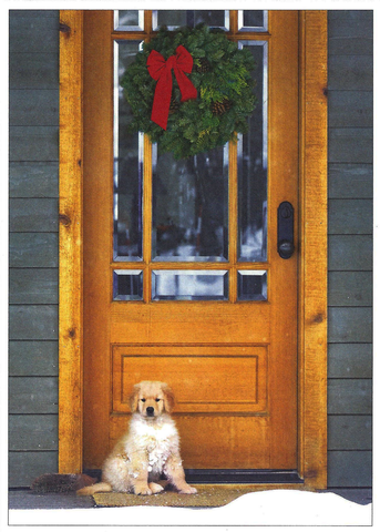 Golden Holiday - Christmas Card