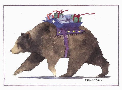Bearing Gifts - Christmas Card