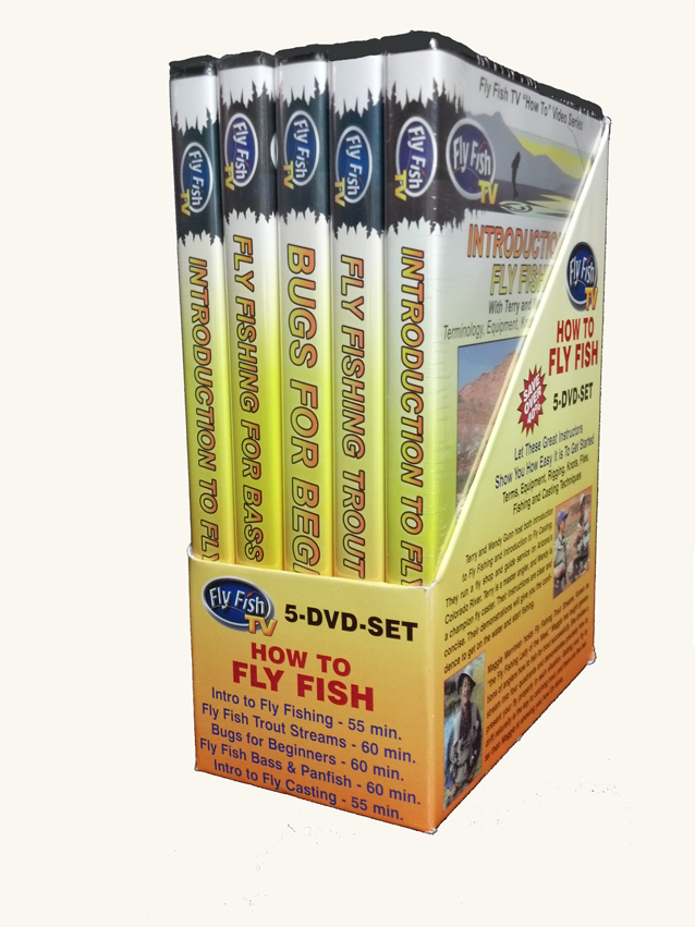 How To Fly Fish 5-DVD-Set