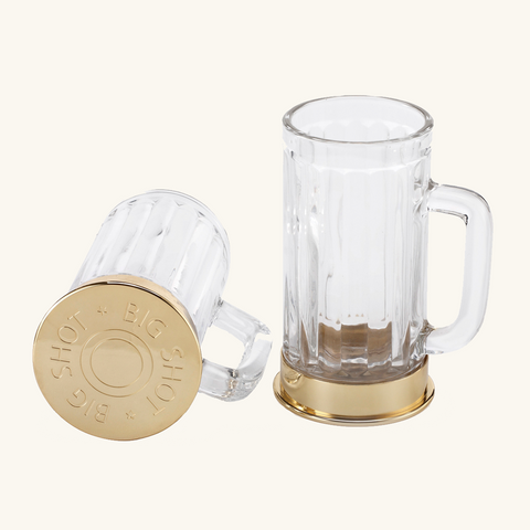 Big Shot Beer Steins - Set of 2