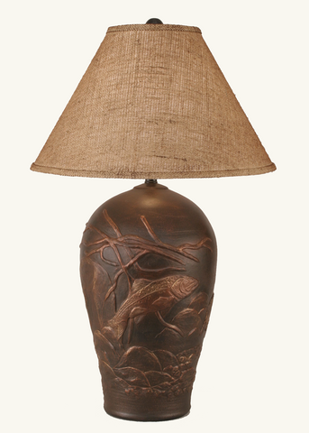Fish Pot Lamp