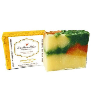 Lemon Tea Tree Handmade Vegan Soap