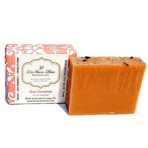Rose Geranium Handmade Vegan Soap