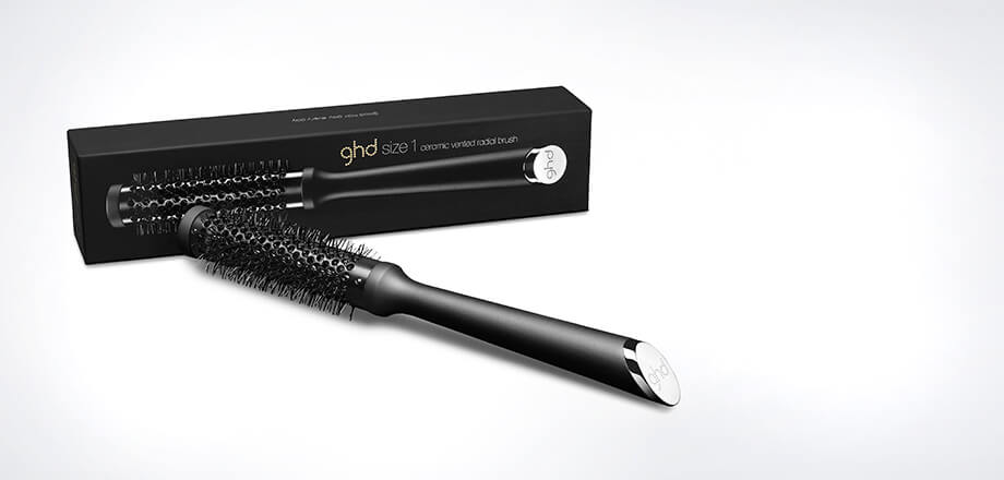 ghd Ceramic Vented Radial Brush Size 1 (25mm Barrel)