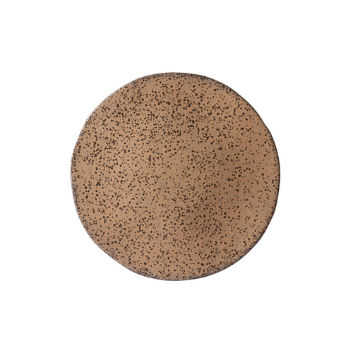 gradient ceramics: side plate taupe (set of 2) ACE6899