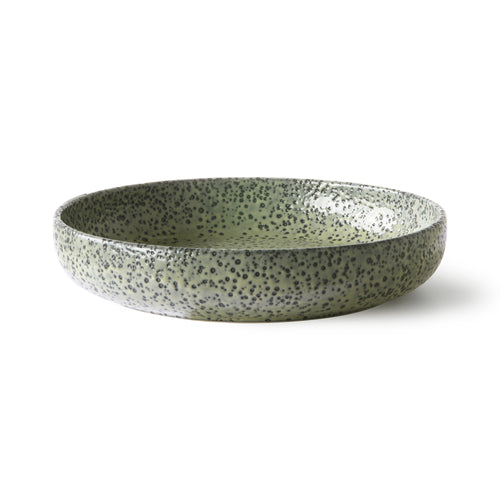 gradient ceramics: deep plate green (set of 2) ACE6939