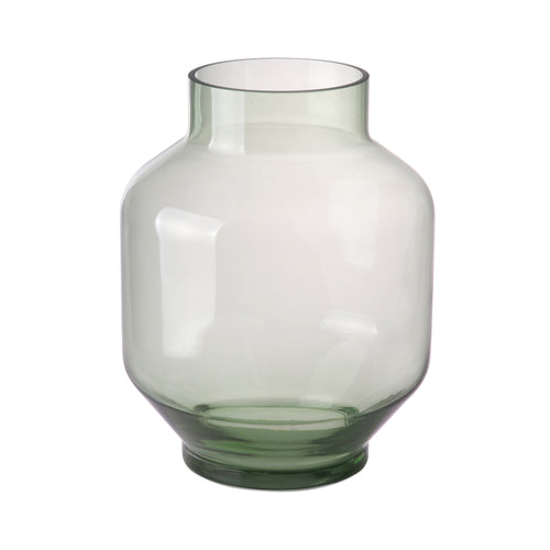 green glass vase l AGL4446