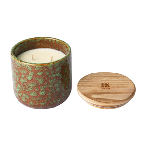 ceramic scented candle: floral boudoir AKA3352