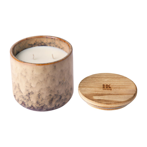 ceramic scented candle: casa fruits AKA3355