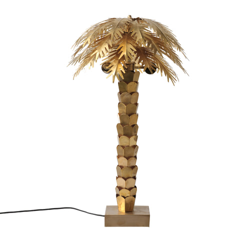 brass palm lamp VOL5007