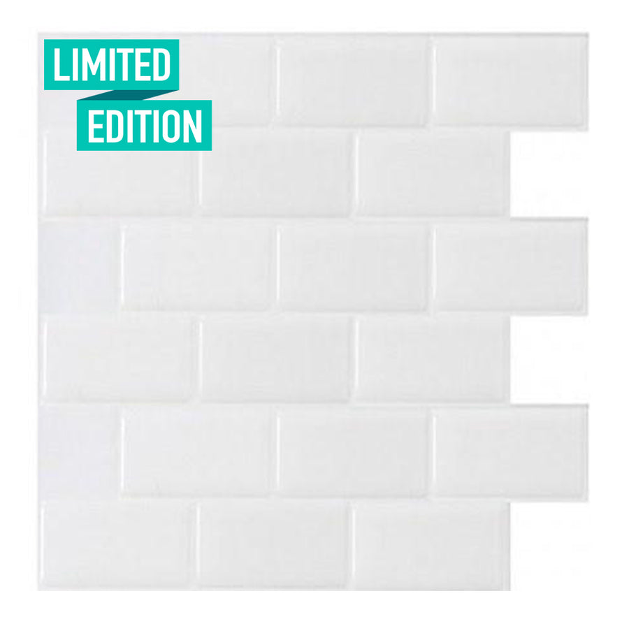 [Limited Edition] Subway White Special (Up to 50 Sheets) + Spray Adhesive