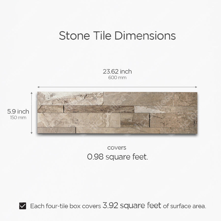 Brown Stone Tile
