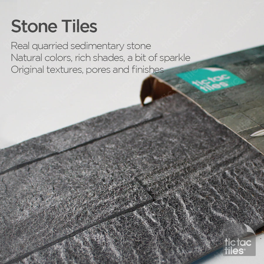 Silver Pearl Stone Tile