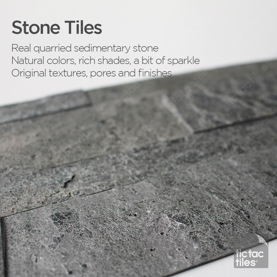 Oyster Gray Stone Tile