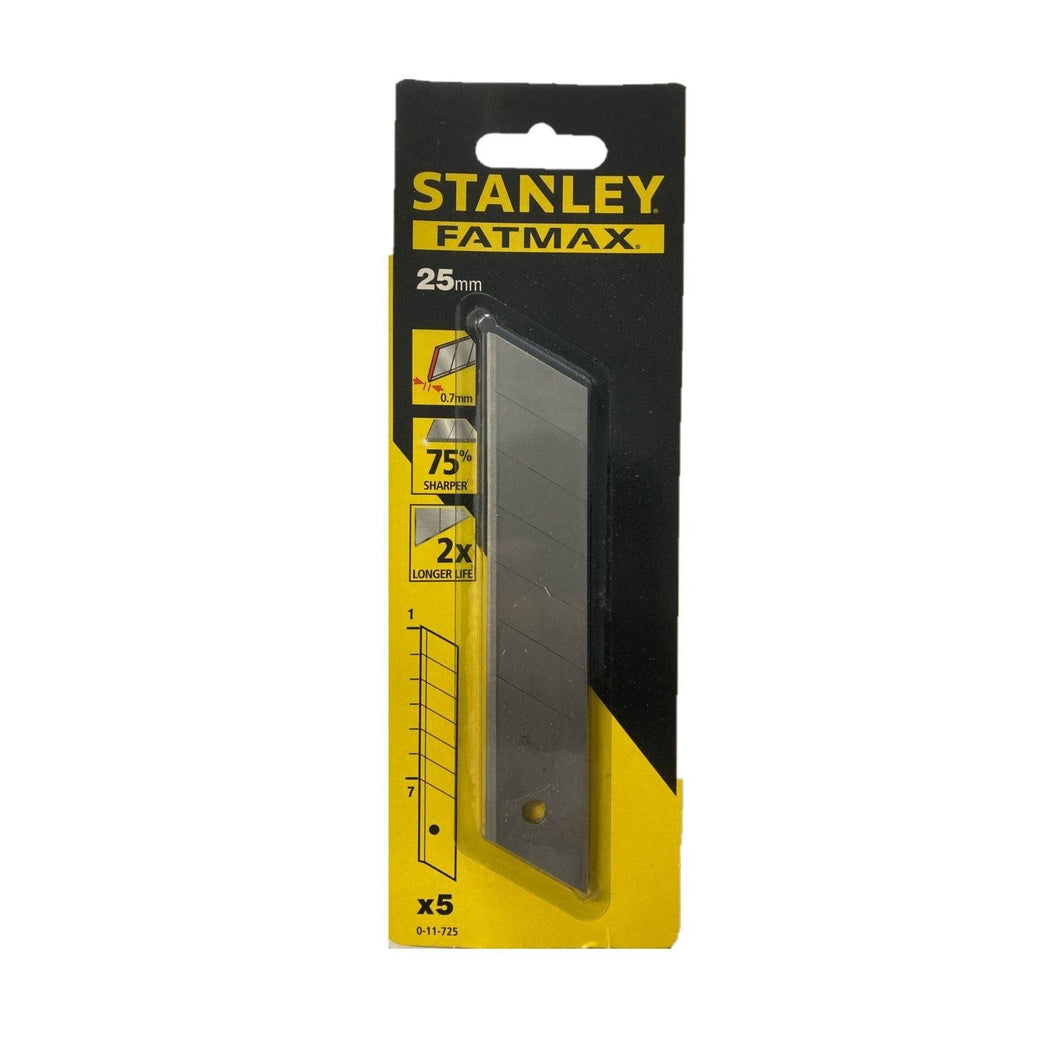 Set 5 lame a spezzare per cutter STANLEY 11-725 FAT MAX