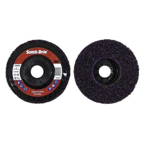 3M disco abrasivo viola Pro Clean and Strip asportazione vernice, ruggine e calamine