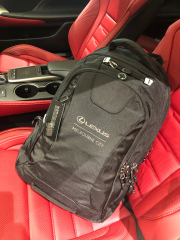 Lexus Backpack - Black Different Designs
