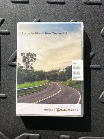 SAT NAV GPS UPDATE - DVD - Australia Version 24 TOMTOM Maps