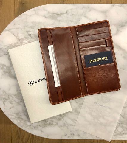 Barrington Lexus Travel Organizer/ Wallet