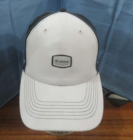 Premium Lexus Cap - White and Black