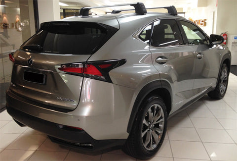 lexus nx roof rack cross bars